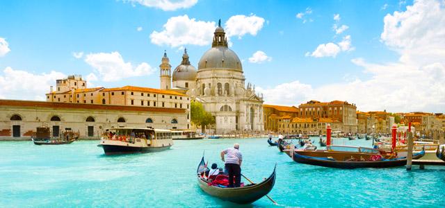 Veneza, uma das cidades italianas mais românticas