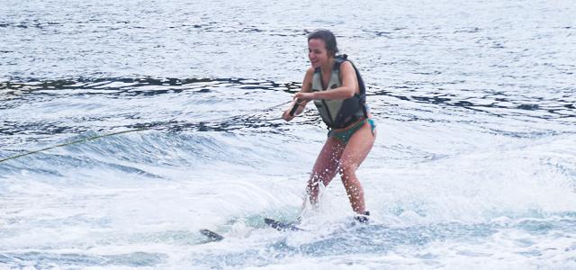 Atividades nas águas de Mangaratiba