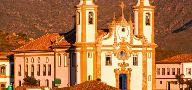Nossa Senhora do Carmo, na cidade de Ouro Preto