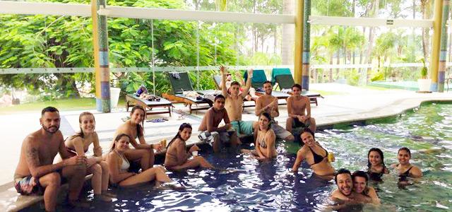 A tripulação Zarpo desembarcou no Mavsa Resort