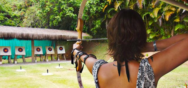 Arco e Flecha no Club Med Rio das Pedras