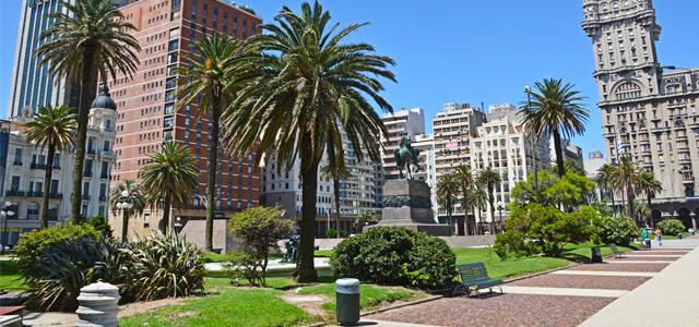 Plaza Independencia em Montevidéu