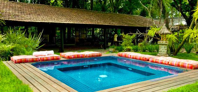 Relaxe com o espaço zen do Hotel & Golfe Clube dos 500