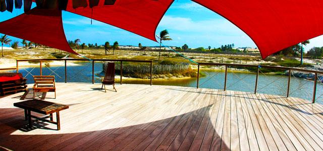 Conheça o prazer de se esconder em um hotel em Canoa Quebrada