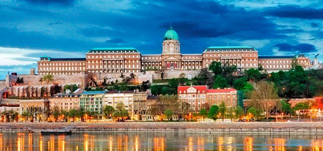 Buda Castle, Budapeste - Europa central