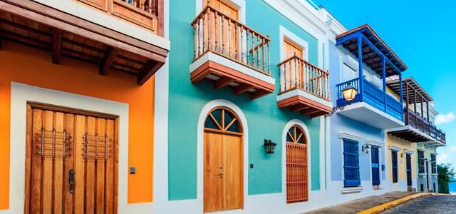 Centro Histórico em Porto Rico
