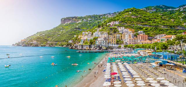 Costa Amalfitana - Verão na Europa