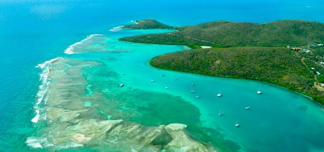 Ilha de Culebra, em Porto Rico