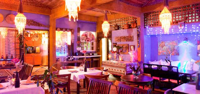 Café cortesia no restaurante do Aquabarra Boutique Hotel & Spa