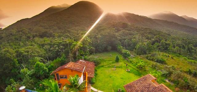 Beleza e sustentabilidade fazem do Lagamar Eco Hotel um santuário