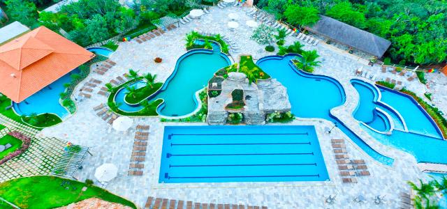 Ecologic Ville Resort - Águas quentes