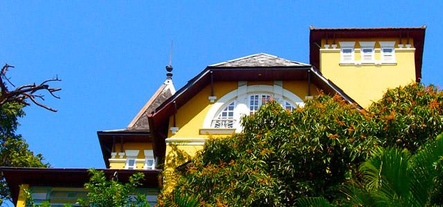 Fachada do Casa Amarelo