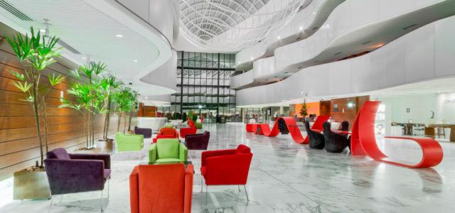 A arquitetura do Royak Tulip Brasilia inspira - Hotéis em Brasília