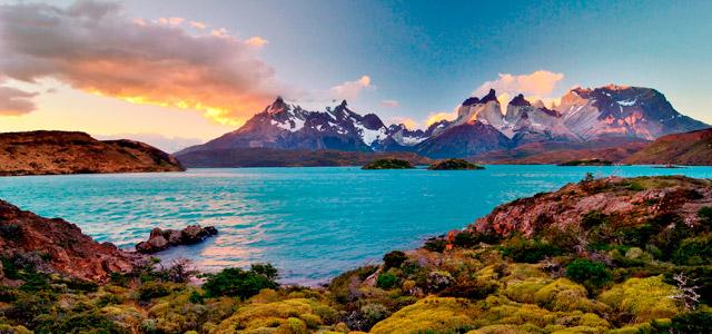 A beleza da Patagônia no versão e no inverno