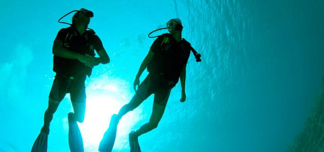 Mergulho - Represa de Furnas