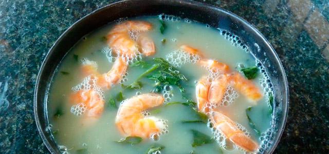 Tacacá, comida típica da regiião - Belém do Pará