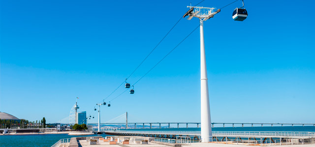 Teleférico - O que fazer em Lisboa