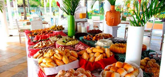 Mar Paraíso Resort - Café da Manhã