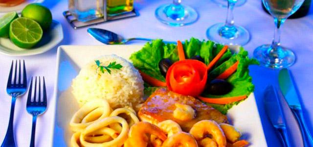 Mar Paraíso Resort - Gastronomia