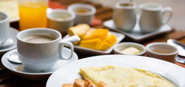 Hotel Porto de Paz - Café da Manhã