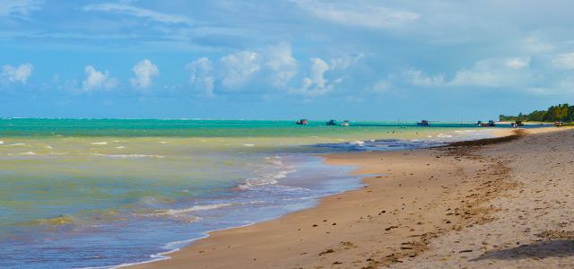 Praia do Riacho - São Miguel dos Milagres