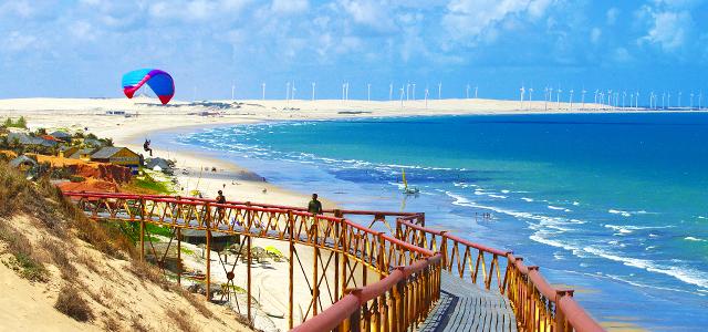 Praia de Canoa Quebrada - Ceará