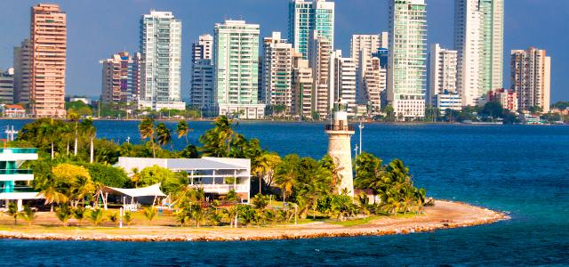 Playa Bocagrande - Cartagena