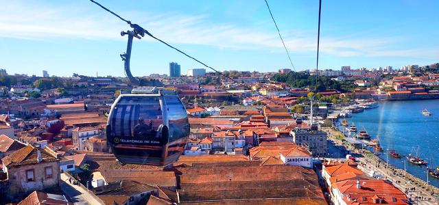 Teleférico de Gaia - Portugal