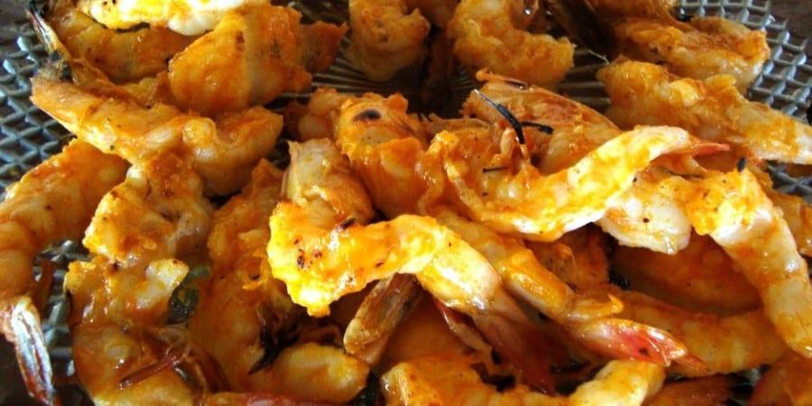 Gosta de camarão? Restaurante da Luzia nos Lençois Maranhenses