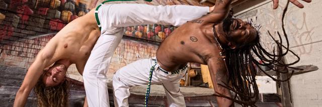 Capoeira no Kiaroa e Barra Grande