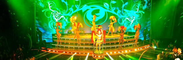 Show no Cocobongo em Cancun