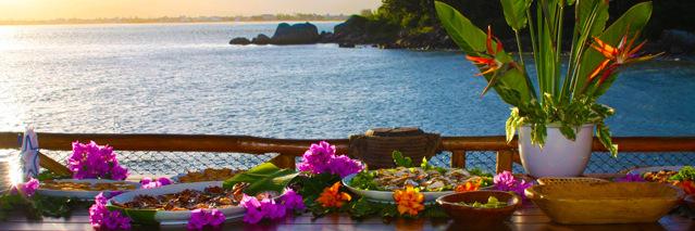 Ilha de Papagaio - Spa no final da tarde