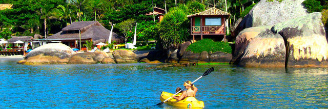 Ilha de Papagaio - Passeio de barco