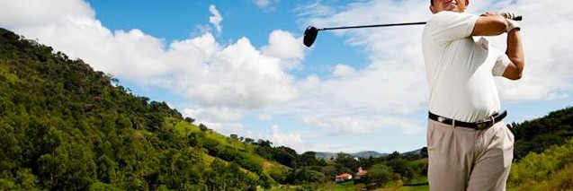 Golf do Hotel Sant'Anna em Amparo