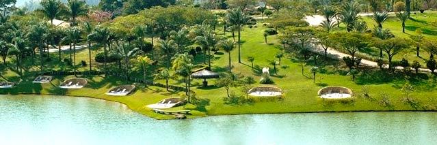 Lago do Lake Villas em Amparo