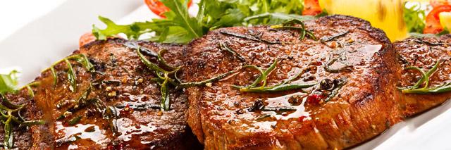 Carne assada tipicamente argentina