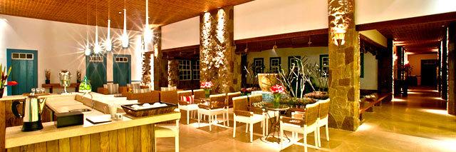 Spa lounge do Lake Villas em Amparo