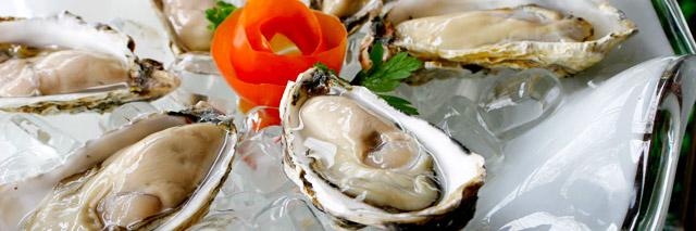 Prato de ostras
