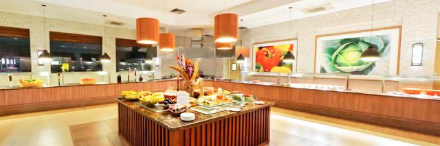 Restaurante da Mata, no Rio Quente Crystal Resort