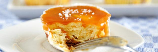 Cheesecake preparado no Restaurante Satyricon