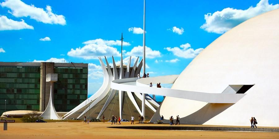 Abra os olhos para as belezas de Brasília!