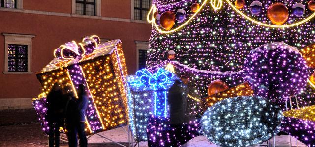 Decoração natalina de Curitiba