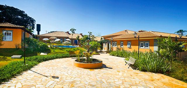 Vista do hotel Vila Real Jaú