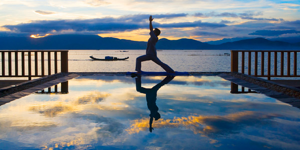 Yoga no Vedana Lagoon: incomparável!