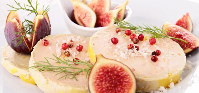 Foie gras é apreciável na culinária francesa