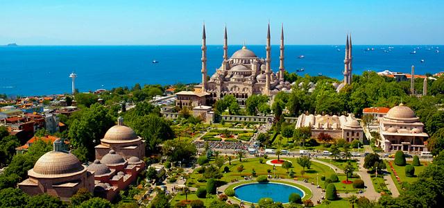 Mesquita Azul, uma das maravilhas do Estreito de Bósforo