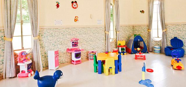 Recreação infantil no Hotel San Raphael