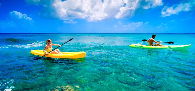 Crane Beach, na Ilha Barbados