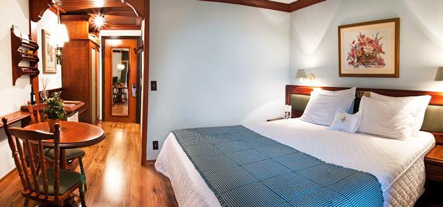Descanso merecido no maravilhoso hotel de Gramado