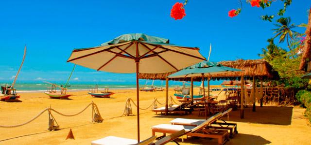 Praia de Flecheiras: beleza em terras cearenses